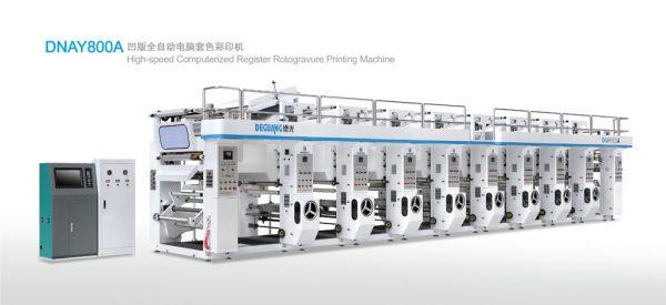 DNAY800A rotogravure printing machine