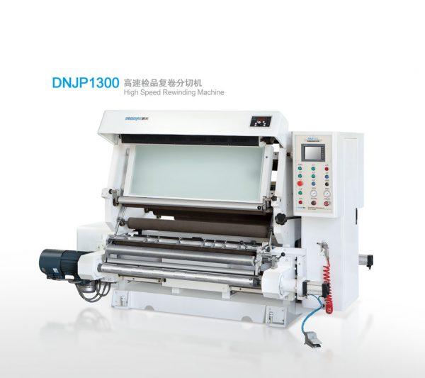 DNJP1300 inspection-rewinding and slitting machine